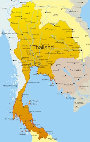 broen over kwai kart Thailand